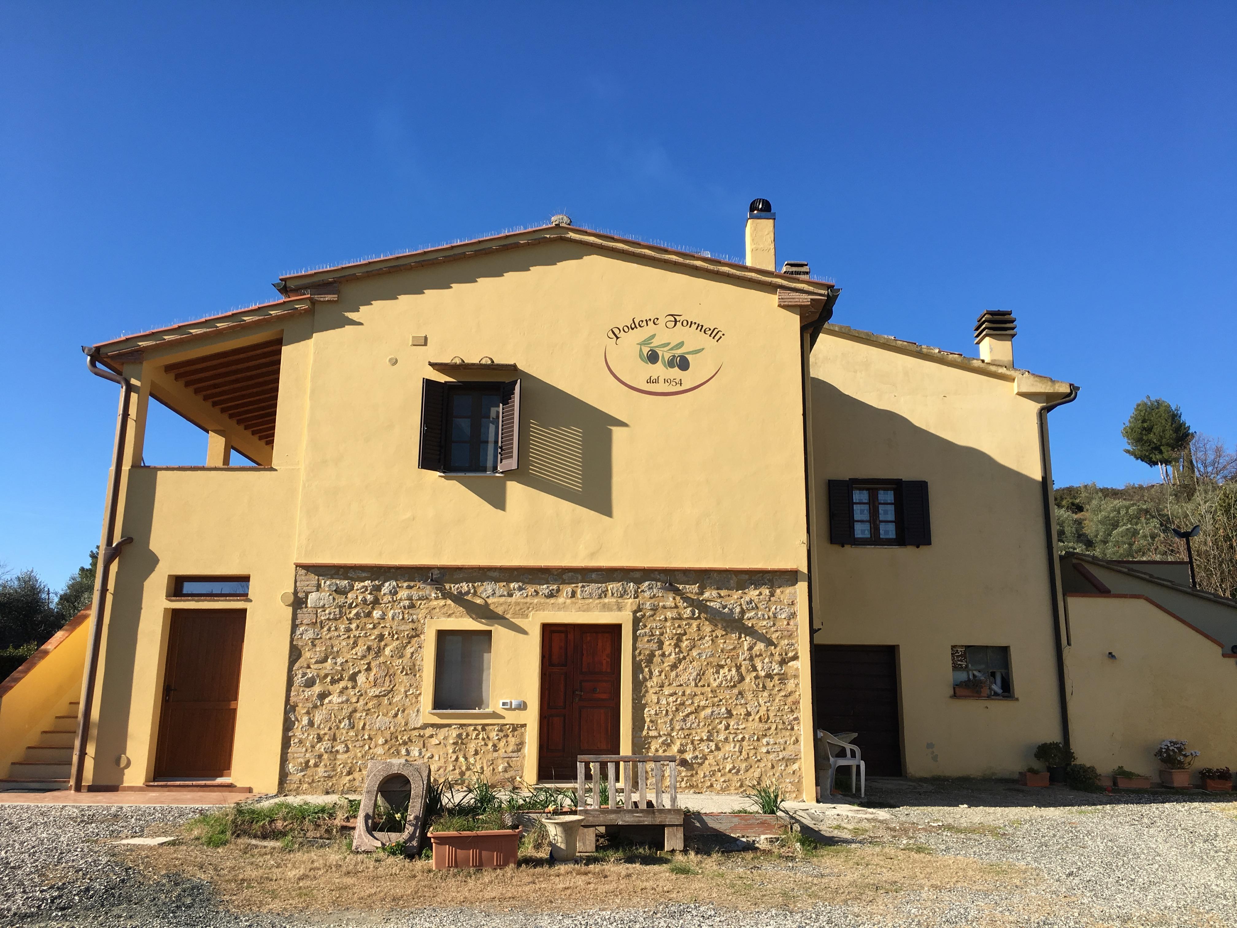 Podere Fornelli, produzione Olio extravergine di oliva, frutta, verdura - Casale, Toscana
